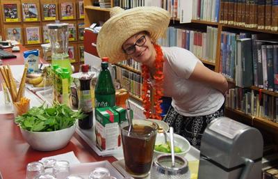 Cocktail bar knihovna Dobříš